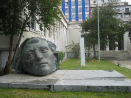 Monument dedicated to the Polytechnic fighters