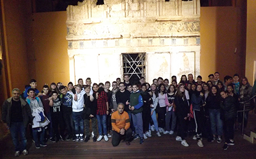 Visit to the tomb of Anthemia Miezas and the ancient theater of Miesas